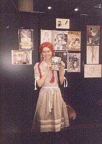 Cosplay-Cover: Anne mit den roten Haaren