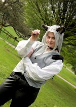 Cosplay-Cover: Sephiroth (Wolf / Fanart)