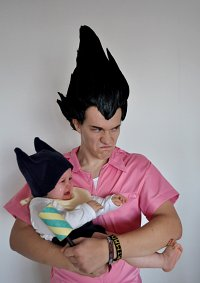 Cosplay-Cover: Vegeta Badman Outfit