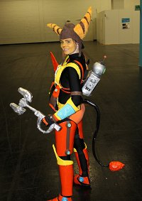 Cosplay-Cover: Ratchet - QForce Armor (Ratchet & Clank QForce)