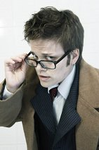 """Cosplay-Cover: The Doctor  (10th Doctor) """"Blauer Anzug [[ALT]]"""""""