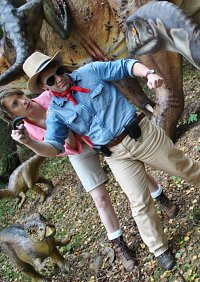 Cosplay-Cover: Dr. Alan Grant (Jurassic Park)