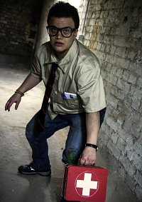 Cosplay-Cover: Dwight Fairfield [Dead by Daylight]
