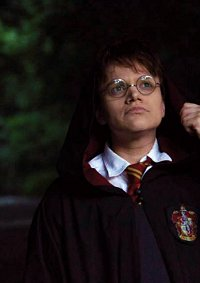 Cosplay-Cover: Harry Potter (Schuluniform)