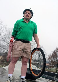 Cosplay-Cover: Irresponsible Dad (Happy Wheels)