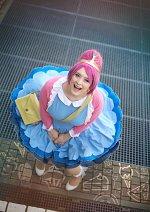 Cosplay-Cover: Princess Bonnibel Bubbleggum (blue dress)