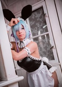 Cosplay-Cover: Rem ~ Bunny Girl Maid