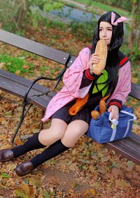 Cosplay-Cover: Nezuko ~ Schuluniform ✔
