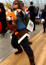 Cosplay-Cover: Avatar Korra (Buch 4 Outfit)