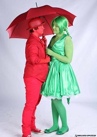 Cosplay-Cover: Ampelfräulein ( grün )
