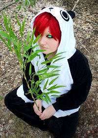 Cosplay-Cover: Sabaku no Gaara ( Le Panda-Version )