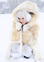 Cosplay-Cover: Schneebär