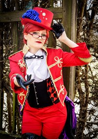 Cosplay-Cover: Grell Sutcliff (Circus Version)