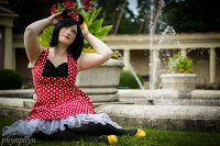 Cosplay-Cover: Minni Mouse (Human)