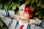 Cosplay-Cover: Todoroki Shouto