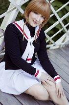 Cosplay-Cover: Sakura Kinomoto (CCS) Schuluniform