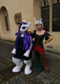 Cosplay-Cover: Rarity ~Fursuit~