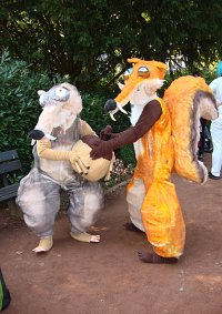 Cosplay-Cover: Scratte (Ice Age III)