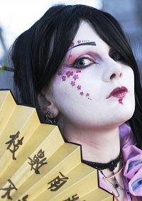 Cosplay-Cover: Geisha