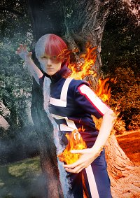 Cosplay-Cover: Todoroki Shouto - Sportuniform