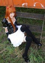 Cosplay-Cover: Asuka Soryuu Langley (gothic lolita)