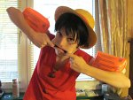 Cosplay-Cover: Monkey D. Ruffy - モンキー・D・ルフィ