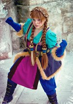 Cosplay-Cover: Warcraft Dwarf Anna