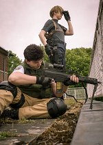 Cosplay-Cover: Chris Redfield (Resident Evil 1)