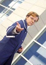 Cosplay-Cover: Roderich Edelstein (Österreich blaue Uniform)