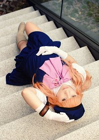 Cosplay-Cover: Sheryl Nome [Blue Dress]