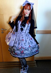 Cosplay-Cover: Ghost Night Bride OP (lavender) - Angelic Pretty