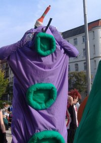 Cosplay-Cover: Lila Tentakel (Day of the Tentacle)