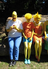Cosplay-Cover: Lisa Simpson