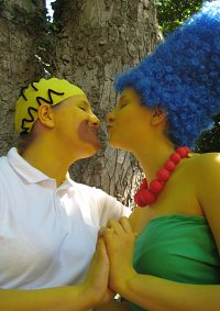 Cosplay-Cover: Marge Simpson
