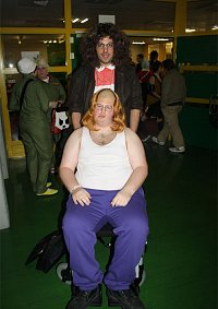 Cosplay-Cover: Lou aus Little Britain