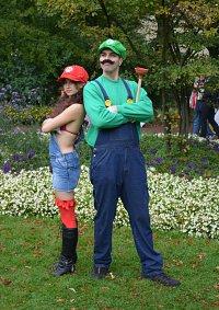 Cosplay-Cover: Luigi Mario