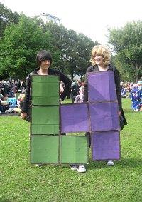 Cosplay-Cover: Tetris «Violetter Block»