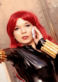 Cosplay-Cover: Black Widow/Natasha Romanov (Bishojo Figure)