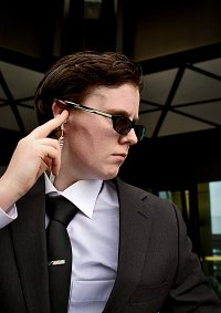 Cosplay-Cover: Agent Smith