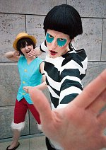 Cosplay-Cover: Bon Clay (Impel Down)