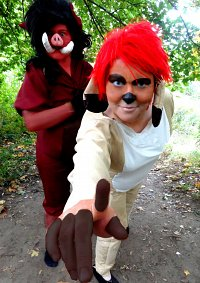 Cosplay-Cover: Timon (The Lion King)