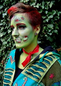 Cosplay-Cover: Comic Zombie