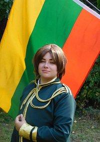 Cosplay-Cover: Litauen (Gala-Uniform)