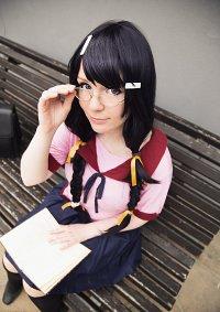 Cosplay-Cover: Tsubasa Hanekawa
