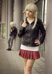 Cosplay-Cover: Maka Albarn (Leather Jacket)