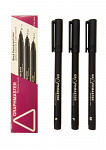 Graphmaster: 3er-Set Permanent-Liner Black