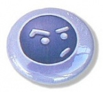 Animexx Button: Smiley-Edition - Skeptisch