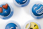 Animexx Button: Komplettset - Smiley-Edition B