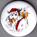 Button: Ijiwaruto Xmas-Edition