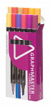 Graphmaster: 12er-Set Dual-Tip-Marker C 'Yellow/Red'